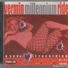 CDs de Música: VERMIN - MILLENNIUM RIDE / CD ALBUM DE 1998 / MUY BUEN ESTADO RF-5948. Lote 206424971