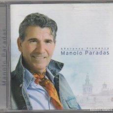 CDs de Música: MANOLO PARADAS - AÑORANZA FLAMENCA / CD ALBUM DEL 2007 / MUY BUEN ESTADO RF-5949. Lote 206425021