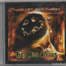 CDs de Música: VELVET ACIO CHRIST - FUN WITH KNIVES / CD ALBUM DE 1999 / MUY BUEN ESTADO RF-5958. Lote 206428445