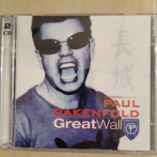 CDs de Música: PAUL OAKENFOLD ‎– PERFECTO PRESENTS... GREAT WALL. Lote 206434595