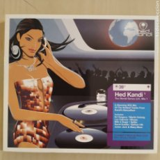 CDs de Música: VARIOUS ‎– HED KANDI: THE WORLD SERIES U.K. MIX 1 - 3 CD´S - 2003. Lote 206441481
