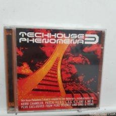CDs de Música: CD1473 TRCHHOUSE PHENOMENA 3 - CD SEGUNDAMANO. Lote 206443895