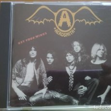 CDs de Música: AEROSMITH GET YOUR WINGS CD. Lote 206455425