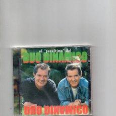 CDs de Música: CD - DUO DINAMICO - EL PENULTIMO - NUEVO SIN ABRIR. Lote 206456821