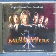 CDs de Música: THE THREE MUSKETEERS - LOS TRES MOSQUETEROS - BANDA SONORA - CD. Lote 206459720