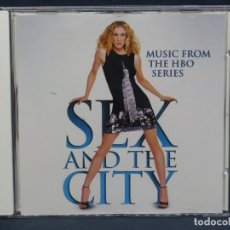 CDs de Música: SEX AND THE CITY - MUSIC FROM HBO SERIES - CD. Lote 206459883