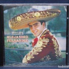 CDs de Música: ALEJANDRO FERNANDEZ - GRANDES EXITOS A LA MANERA DE ALEJANDRO FERNANDEZ - CD. Lote 206462351
