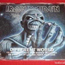 CDs de Música: IRON MAIDEN DIFFERENT WORLD CD SINGLE PRECINTADO. Lote 206470190