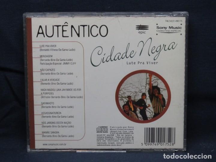 CDs de Música: Cidade Negra - Lute Para Viver - CD - Foto 2 - 206470936