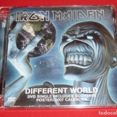 CDs de Música: IRON MAIDEN DIFFERENT WORLD DVD SINGLE. Lote 206471533