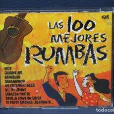 CDs de Música: LAS 100 MMEJORES RUMBAS - 4 CD. Lote 206473156