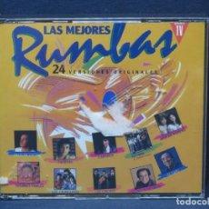CDs de Música: LAS MEJORES RUMBAS - 24 VERSIONES ORIGINALES - 2 CD. Lote 206473248