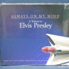 CDs de Música: ALWAYS ON MY MIND - A TRIBUTE TO ELVIS PRESLEY - 2 CD. Lote 206473577