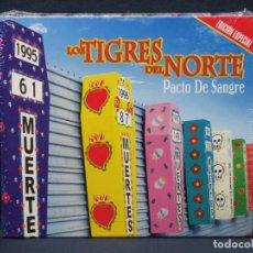 CDs de Música: LOS TIGRES DEL NORTE - PACTO DE SANGRE - CD. Lote 206474002