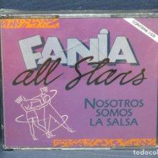 CDs de Música: FANIA ALL STARS- NOSOTROS SOMOS LA SALSA - 2 CD. Lote 206474522