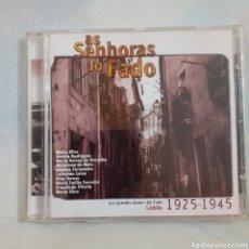 CDs de Música: AS SENHORAS DO FADO. FRANCIA 1998. NO PROBADO.. Lote 257629690