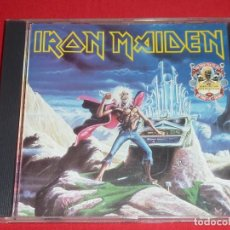 CDs de Música: IRON MAIDEN RUNNING FREE - RUN TO THE HILLS CD FIRST TEN YEARS. Lote 206474678
