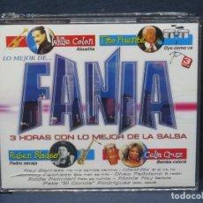 CDs de Música: LO MEJOR DE FANIA - 3 HORAS CON LO MEJOR DE LA SALSA - 3 CD. Lote 206474791