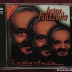 CDs de Música: ASTOR PIAZZOLLA (REPUBLICA ARGENTINA) 2 CD 2000. Lote 206474843