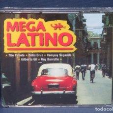 CDs de Música: MEGA LATINO - 4 CD. Lote 206474922