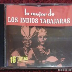 CDs de Música: LOS INDIOS TABAJARAS (LO MEJOR DE LOS INDIOS TABAJARAS - 16 EXITOS) CD 1988. Lote 206475236