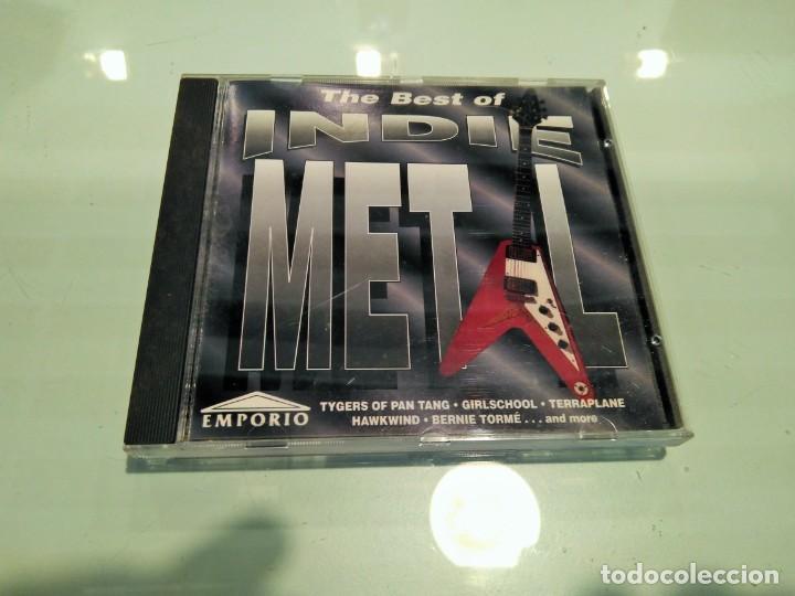 THE BEST OF INDIE METAL (Música - CD's Heavy Metal)