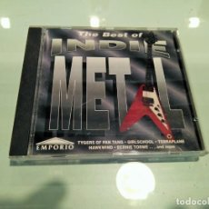 CDs de Música: THE BEST OF INDIE METAL. Lote 206475457