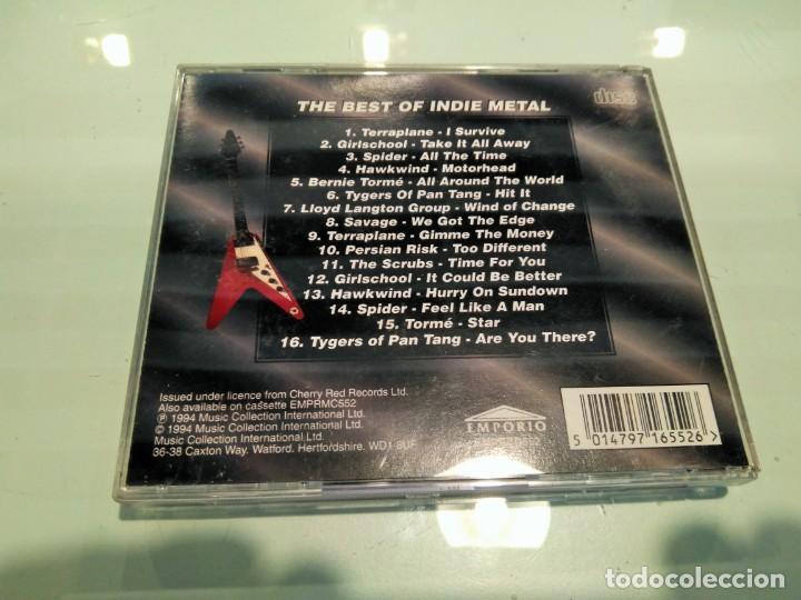 CDs de Música: THE BEST OF INDIE METAL - Foto 2 - 206475457
