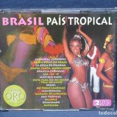CDs de Música: BRASIL - PAIS TROPICAL - SERIE ORO VOL.14 - 2 CD. Lote 206475731