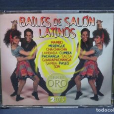 CDs de Música: BAILES DE SALON LATINOS - SERIE ORO VOL. 19 - 2 CD. Lote 206475853