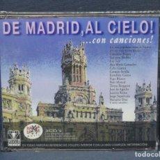 CDs de Música: DE MADRID, AL CIELO ...CON CANCIONES! - 3 CD RAMA LAMA. Lote 206476840