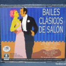 CDs de Música: BAILES CLASICOS DE SALON - 3 CDRAMA LAMA. Lote 206476967