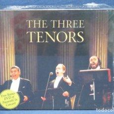 CDs de Música: THE THREE TENORS - 2 CD + DVD. Lote 206477278