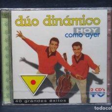 CDs de Música: DUO DINAMICO - HOY COMO AYER - 2 CD. Lote 206477703
