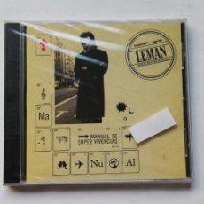 CDs de Música: 0520- LEMAN MANUAL DE SUPER VIVENCIAS - CD PRECINTADO LIQUIDACION! N2. Lote 206478763