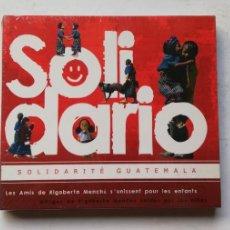 CDs de Música: 0520- SOLIDARIO SOLIDARITE GUATEMALA - CD PRECINTADO LIQUIDACION!. Lote 206479311
