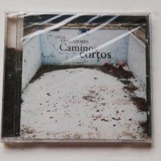 CDs de Música: 0520- LOS VENGADORES CAMINOS CORTOS - CD PRECINTADO LIQUIDACION!. Lote 206482658