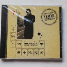 CDs de Música: 0520- LEMAN MANUAL DE SUPER VIVENCIAS - CD PRECINTADO LIQUIDACION! N2. Lote 206484102