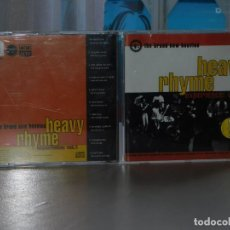CDs de Música: CD THE BRAND NEW HEAVIES. HEAVY RHYME EXPERIENCIE: VOL 1. ACID JAZZ 1992.. Lote 206488536