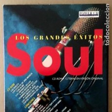 CDs de Música: SOUL - CD ROM + 12 CANCIONES EN CD AUDIO DE JAMES BROWN, SAM AND DAVE, RAY CHARLES.... Lote 206489620