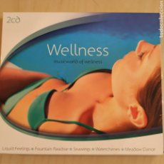CDs de Música: WELLNESS - MUSICWORLD OF WELLNESS - VARIOS - 2 CDS - 2008. Lote 206491788