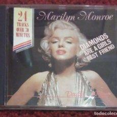 CDs de Música: MARILYN MONROE (DIAMONDS ARE A GIRLS BEST FRIEND) CD * RARO. Lote 206498387