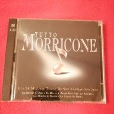 CDs de Música: CD BSO DOBLE - TUTTO MORRICONE. Lote 206500337