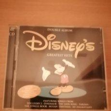 CDs de Música: CD DOBLE BSO - DISNEY GREATEST HITS. Lote 206502248