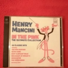CDs de Música: CD DOBLE BSO HENRY MANCINI - IN THE PINK. Lote 206503351