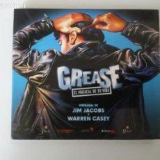 CDs de Música: GREASE EL MUSICAL DE TU VIDA ORIGINAL DE JIM JACOBS Y WARREN CASEY CD. Lote 206515198