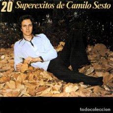 CDs de Música: CAMILO SESTO - 20 SUPER EXITOS DE CAMILO SESTO - CD ALBUM - ARIOLA 1989 - MUY RARO Y DESCATALOGADO. Lote 206520811