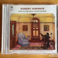 CDs de Música: ROBERT JOHNSON: KING OF THE DELTA BLUES SINGERS (VOL. 2). Lote 206525295