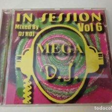 CDs de Música: MEGA DJ IN SESSION VOL 6 CD ALBUM EN SESION DE TEMAS HOUSE Y SPEED GARAGE DE FINES DE LOS 90. Lote 206542451