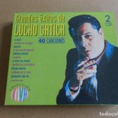CDs de Música: GRANDES EXITOS DE LUCHO GATICA - 2 CD - 40 CANCIONES. Lote 206554032